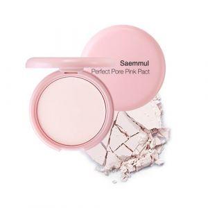 Пудра с каламином для проблемной кожи, розовая The Saem Saemmul Perfect Pore Pink Pact 11г