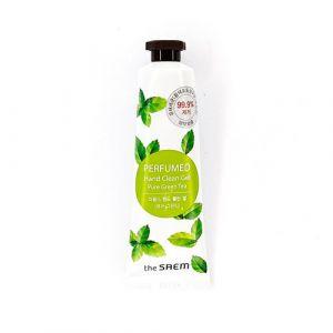 Антибактериальный гель для рук с ароматом зеленого чая The Saem Hand Clean Pure Green Tea 30мл