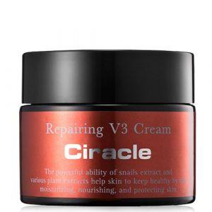 Восстанавливающий крем для лица с муцином улитки Ciracle Repairing V3 Snail Cream 30 мл