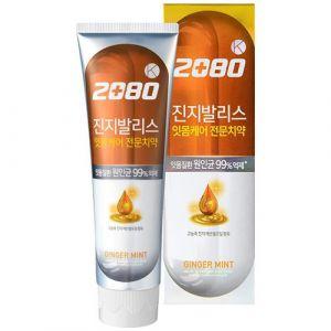 Зубная паста с имбирем Dental Clinic 2080 Aekyung 2080 K Gingivalis Ginger Oil 120г