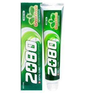 Зубная паста с зеленым чаем Dental Clinic 2080 Green Fresh 120 г