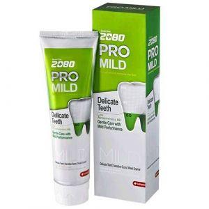 Зубная паста Мягкая защита зеленый Dental Clinic 2080 Pro Mild Delicate Teeth 125 г
