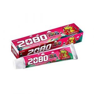 Детская зубная паста с клубничным вкусом Dental Clinic 2080 Kids tooth paste strawberry 80 г