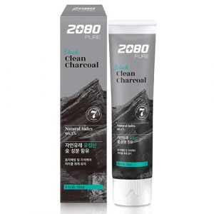 Зубная паста Уголь и Мята Dental Clinic 2080 Pure Black Charcoal 120 г