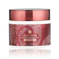 Крем для лица с муцином золотой улитки Enough Gold Snail Moisture Whitening 50 мл