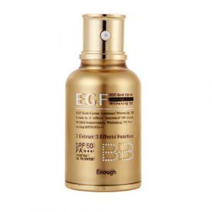 BB-крем c золотом и экстрактом икры SPF50 (EGF) Enough Gold Caviar Luminous Whitening 45мл