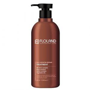 Маска-бальзам восстанавливающая с кератином Floland Premium Silk Keratin Treatment 530 мл