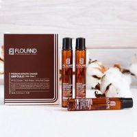 Набор ампул для повреждённых волос с кератином Floland Premium Keratin Change Ampoule 10шт по 13мл