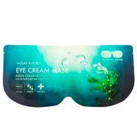 Гидро-гелевая маска для области глаз с морским коллагеном Nature Republic Aqua Collagen Solution Marine Hydro Gell Eye Cream Mask 8г