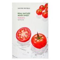 Маска для лица с экстрактом томата Nature Republic real nature tomato mask sheet 23 г