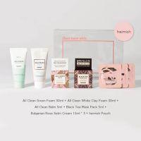 Подарочный набор миниатюр Heimish All Clean Mini Kit 30 г+30 мл+5 г+7 г