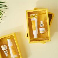 Набор крем витаминный для глаз и сыворотка с прополисом iUNIK Propolis Vitamin Eye Cream Set 30 мл+15 мл