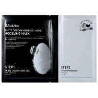 Моделирующая альгинатная маска с протеинами шелкопряда JM Solution White Cocoon Home Esthetic Modeling Mask 50 г+5 г