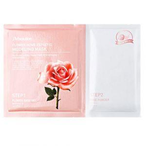 Альгинатная маска с экстрактом дамасской розы JM Solution Flower Home Esthetic Modeling Mask 50 г+5 г