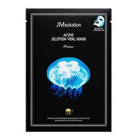 Ультратонкая тканевая маска с экстрактом медузы JM Solution Active JellYfish Vital Mask Prime 33мл