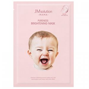 Гипоаллергенная осветляющая тканевая маска JM Solution MAMA Pureness Brightening Mask 30 мл