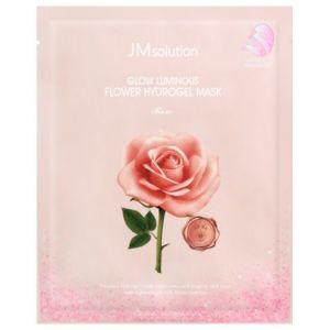 Гидрогелевая маска с экстрактом дамасской розы JM Solution Glow Luminous Flower Hydrogel Mask 30 г