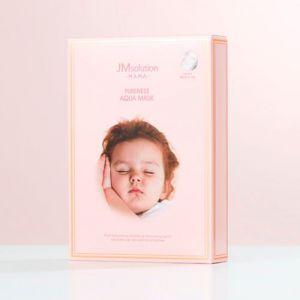 Гипоаллергенная увлажняющая тканевая маска JM Solution MAMA Pureness Aqua Mask 30 мл