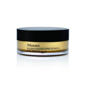 Гидрогелевые патчи с шёлком и золотом JM Solution Golden Cocoon Home Esthetic Eye Patch 60 шт