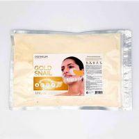 Альгинатная маска для лица с муцином улитки Lindsay Gold Snail modeling mask 240 г