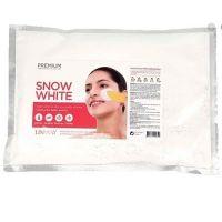 Альгинатная маска для лица осветляющая Lindsay Snow White Modeling Mask 240 г