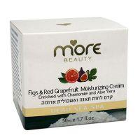 Увлажняющий крем для лица с инжиром и красным грейпфрутом More Beauty Figs & Red Grapefruit Moisturizing Cream 50 мл