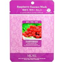 Тканевая маска для лица с экстрактом малины Mijin care Raspberry Essence Mask 23 г