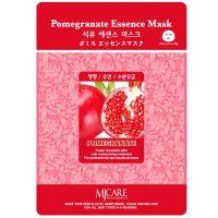 Омолаживающая маска для лица с экстрактом граната Mijin care Pomegranate Essence Mask 25 г