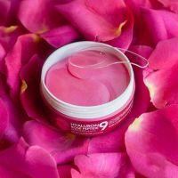 Освежающие гидрогелевые патчи с экстрактом розы и пептидам MEDI-PEEL Hyaluron Rose Peptide 9 Ampoule Eye Patch 60шт