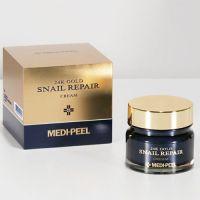 Премиум-крем с золотом и муцином улитки MEDI-PEEL Luxury 24K Gold Snail 50 мл