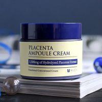 Антивозрастной плацентарный крем для лица. Mizon Placenta Ampoule Cream 50мл