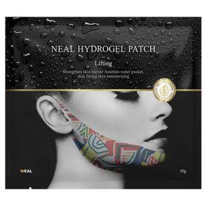 Гидрогелевая лифтинг-маска для подбородка с компрессионным эффектом Neal V-Shape Mask Hydrogel Patch Lifting 10 г