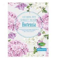 Увлажняющая тканевая маска с экстрактом гортензии Nohj Skin Maman Herbs Fit Sheet Mask Hortensia 25мл