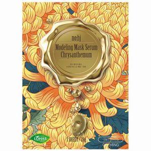 Золотая фольгированная маска с экстрактом хризантемы Nohj Modeling Mask Serum Chrysanthemum 28г