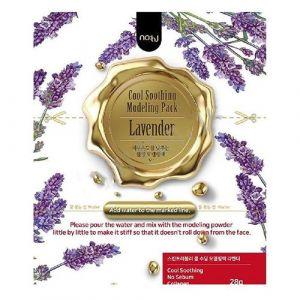 Альгинатная маска с лавандой против воспалений Nohj Cool Calming Modeling Pack Lavender 28г
