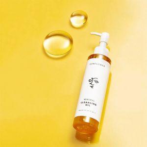 Гипоаллергенное гидрофильное масло Ottie Sunflower Minimal Cleansing Oil 155 мл