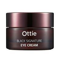 Премиальный крем для глаз с муцином черной улитки Ottie Black Signature Eye Cream 30 мл