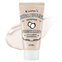 Ультрапитательная ночная маска с маслом ши для тонуса и эластичности кожи A'PIEU Fresh Mate Sleeping Shea Butter Nutrition Mask 50 мл