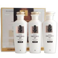 Укрепляющий набор для волос с женьшенем (2 шампуня+ 1 кондиционер) RYO Total Anti-Aging Gift Set 400мл.х3
