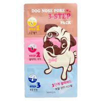 Набор для удаления чёрных точек с экстрактом можжевельника Scinic Somoon Dog Nose Pore 3-Step Pack 7 г