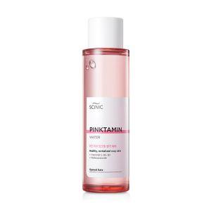 Освежающая розовая вода c витаминами Scinic Pinktamin Water 150 мл