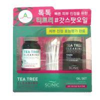 Набор для проблемной кожи c маслом чайного дерева Scinic tea tree clearing oil set 18 + 25 мл