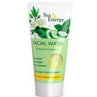Пенка для умывания с экстрактами мирта и огурца Sea&Energy facial wash dead sea minerals 150 мл