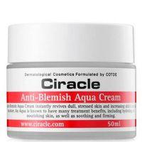 Увлажняющий крем-гель с алоэ для жирной кожи Ciracle Anti Blemish Aqua Cream 50мл