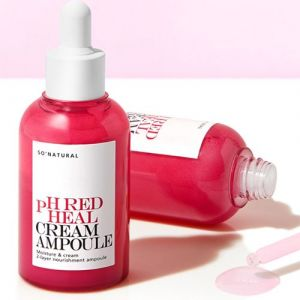 Двухфазная сыворотка с лактобактериями So Natural pH Red Heal Cream 55 мл