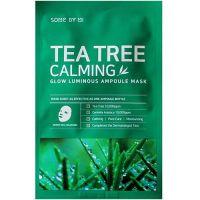 Успокаивающая маска с чайным деревом Some By Mi Tea Tree Calming Glow Luminous Ampoule Mask 25 г