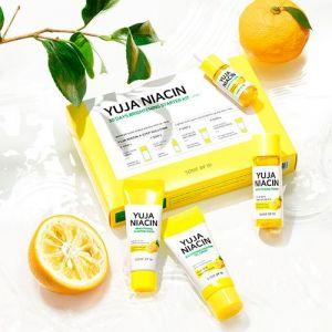 Витаминный набор миниатюр для выравнивания тона кожи Some By Mi Yuja Niacin 30 Days Brightening Starter Kit 30 мл+10 мл+30 г+20 г