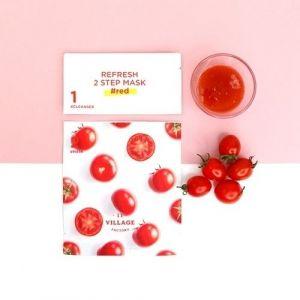 Освежающая 2-х шаговая программа с красным комплексом Village 11 Factory Refresh 2 Step Mask #red 3 мл+25 мл