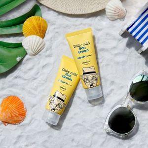 Ежедневный солнцезащитный крем SPF50+ PA++++ Village 11 Factory Daily Mild Sun Cream SPF50+ PA++++ 50мл