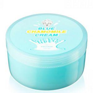 Успокаивающий крем с экстрактом голубой ромашки Village 11 Factory Blue Chamomile Cream 300 мл